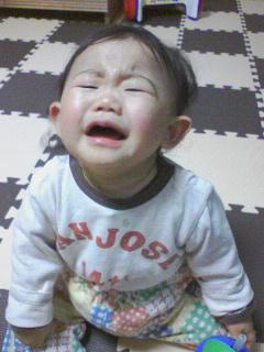 夜泣き(;∀;)